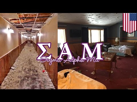 Sigma Alpha Mu Frat Boys Tear A Michigan Ski Lodge A New One video
