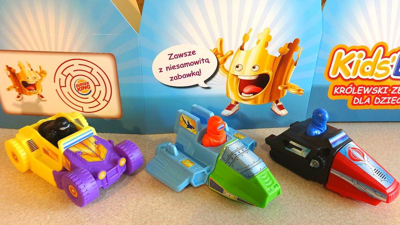 2014 g i joe cars ships kids meal toys complete set unboxing