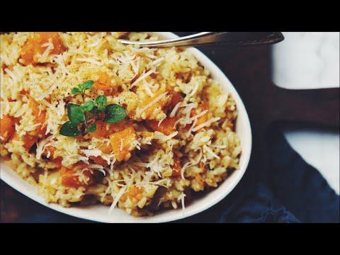 Download Lagu VEGAN BUTTERNUT SQUASH RISOTTO (LIVESTREAM) | hot for food MP3 Free