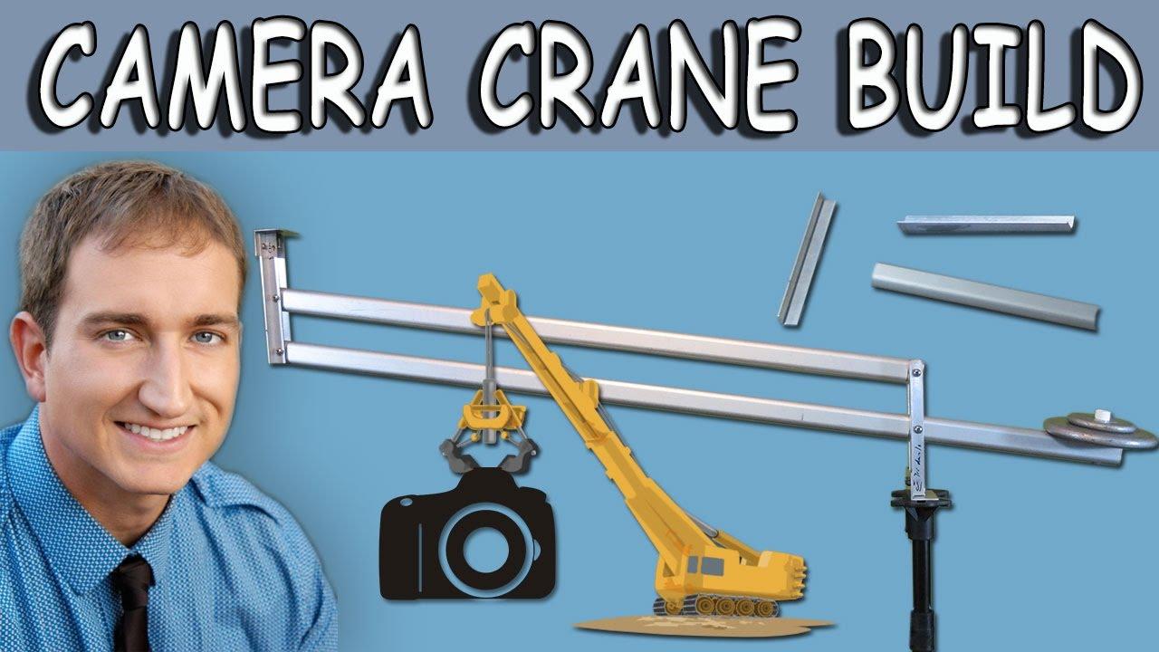 How to build a camera crane jib for dslr cameras youtube for Make a crane