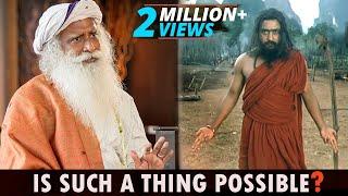 Sadhguru REVEALS how BODIDHARMA uses his PSYCHIC POWERS