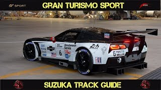 GT Sport - Suzuka Track Guide (Tips For Faster Lap Times)