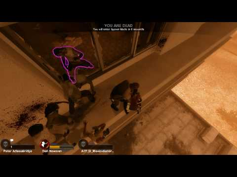 L4D2 - Funny Ledge Scene in Versus.
