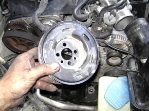 When To Change Timing Belt >> Motor VW 1.8 Lts. Turbo 20 V. cambio de banda de distribución Change timing belt. - YouTube