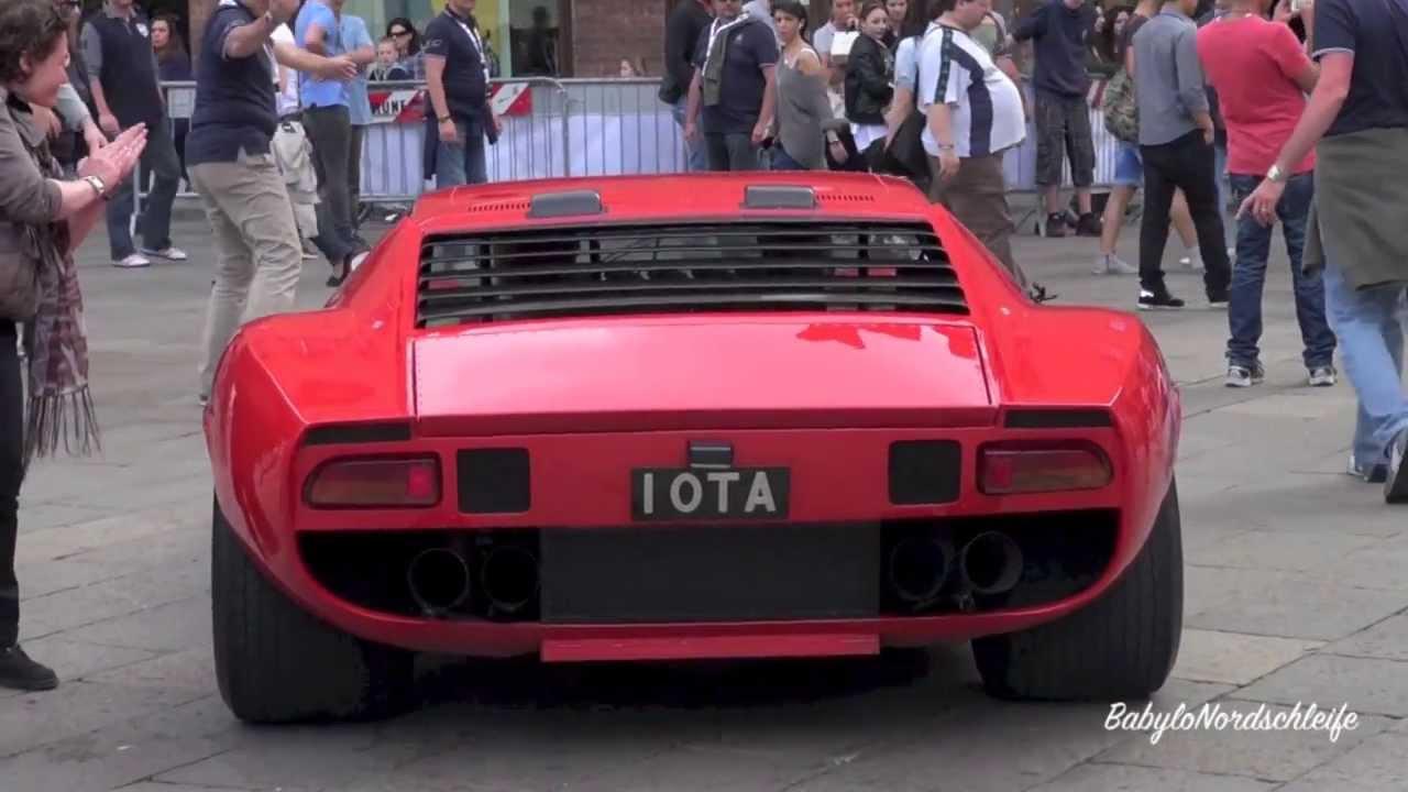 Lamborghini Miura Jota Start Up Amp Sound Youtube