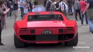 Lamborghini Miura Jota Start up & Sound