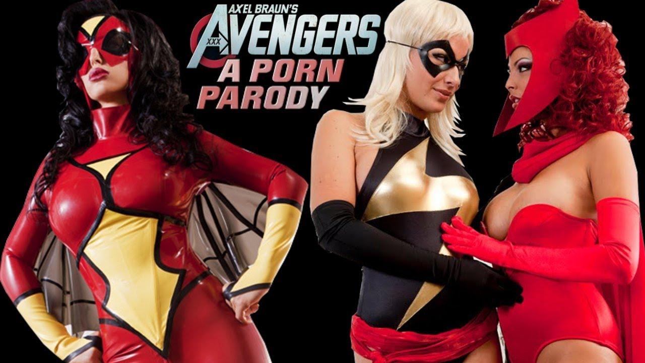 The avengers 2 xxx una parodia porno