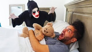 THE BEST SCARE PRANK EVER ON MINDOFREZ!!!