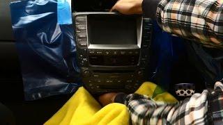 Lexus IS 2-DIN Head Unit Install (Part 1)