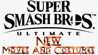 Super Smash Bros Ultimate- New Characters Moves, Costumes And More!!!!