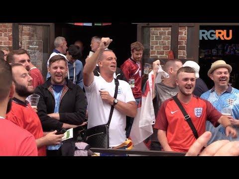Английские фанаты не ожидали такого приема