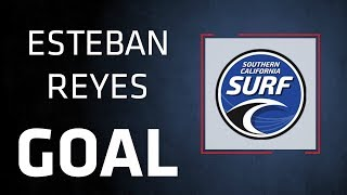 GOAL | Esteban Reyes Completes Counter | SoCal Surf at Seahorses