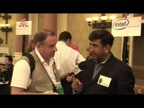 CES 2008 Intel Meno UMPC Interview Consumer Electronics ...