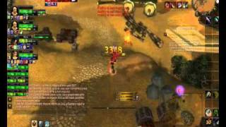 wow Limit 80 lvl warrior deffender fun part1 3.3.5