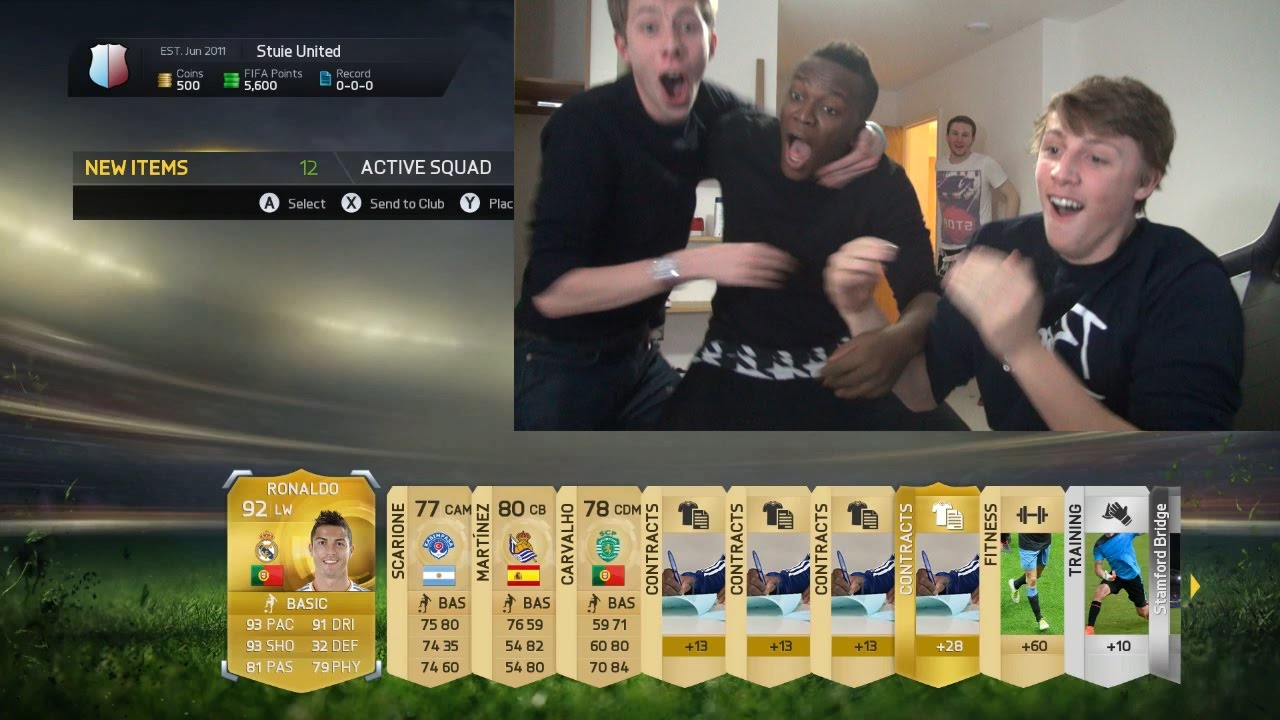 Fifa 15 ronaldo in a pack prank youtube