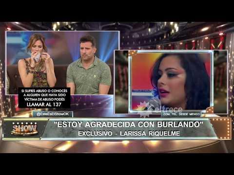 Larissa Riquelme rompió el silencio y defendió a Jonathan Fabbro