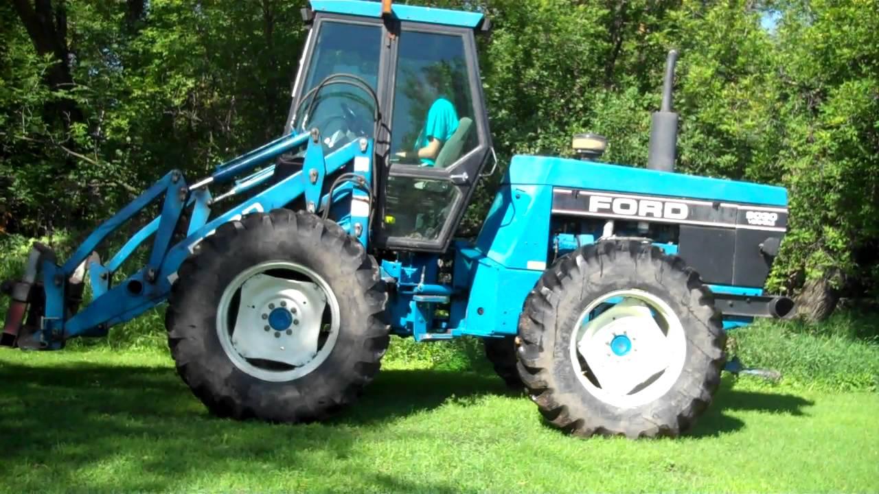 Ford Bi Directional Tractor : Procyshen april yorkton sask bi directional