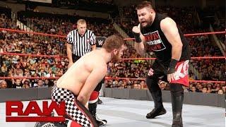 Sami Zayn vs. Kevin Owens: Raw, Sept. 5, 2016