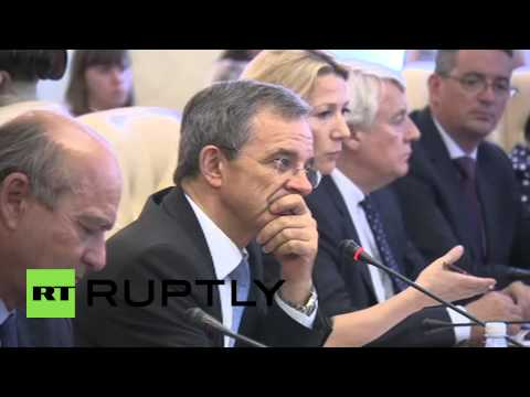 Russia: French MP Mariani meets with Crimean PM in Simferopol