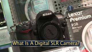 How To Select A Digital SLR Camera