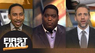 First Take debates if talk after ESPN story will fuel Patriots in NFL playoffs | First Take | ESPN