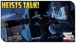 GTA 5 Online HEISTS TALK! - Release Confirmed, New Details Coming Soon & More! (Squadcast #49)