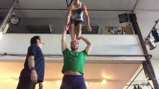 Portland Acrobatics with Tari, Dutch, Scott and Leah