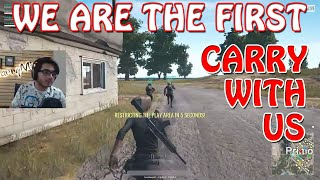 CarryMinati First time playing with an Indian Youtuber | PUBG