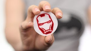 HOW TO MAKE AVENGER'S BADGE AT HOME