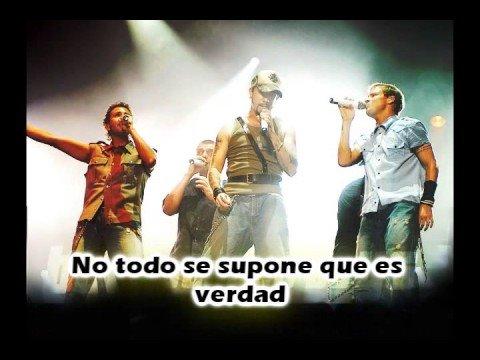 BackStreet Boys - There's Us (Spanish)