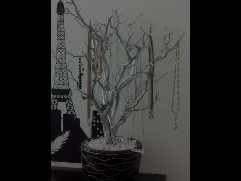 #103 DIY Jewelry Tree