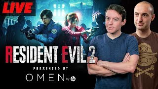 Resident Evil 2 On OMEN by HP With Cam And Seb