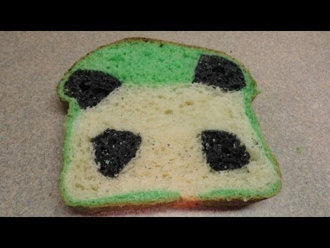 How To Make Panda Bread