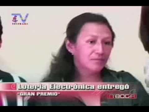 Lotería Electrónica entregó gran premio