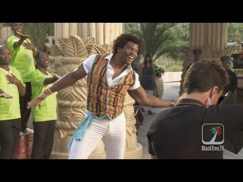 Terry Crews talks about showing another side of Africa in Blended