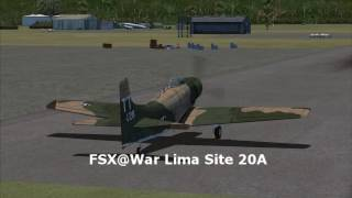 FSC RED : CAS near VLXK (in FSX@War Vietnam theater ).