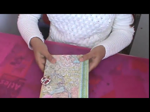 Porta Documentos  (Scrapbook )
