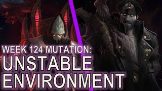 Starcraft II: Unstable Environment [Mass Wrathwalkers!]