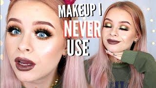 FULL FACE OF PRODUCTS I NEVER USE | sophdoesnails