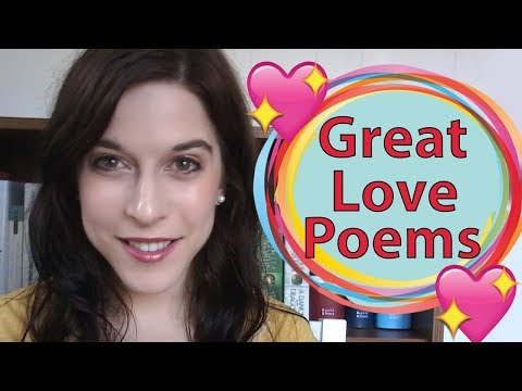 Recommendations for Great American Love Poems