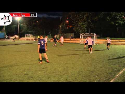 """Amszterdam - Tippszmiksz Fc 2:7 - """"IV. Bikás Sport Pub Live Soccer League"""" 3.forduló - HÉTFŐ"""