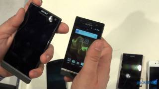 MWC: Sony Xperia S, P & U vs. Samsung Galaxy Nexus, Galaxy S II and iPhone 4S