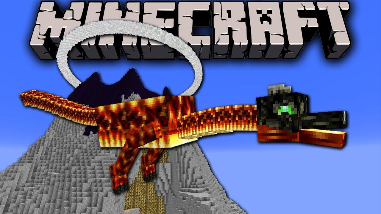 Minecraft Red Dragon Vs Link The Legend Of Zelda Volcano