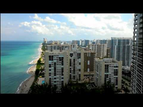 View from beach club,Hallandale Florida.