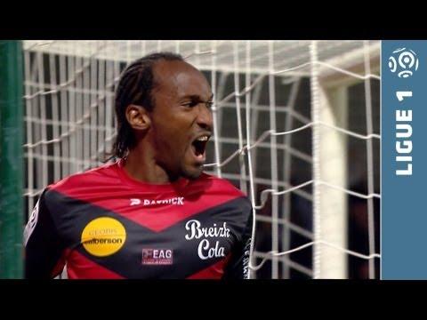 But Jérémy SORBON (47') - EA Guingamp - Stade Rennais FC (2-0 - 2013/2014