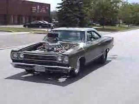 1969 Plymouth GTX Blown Hemi - YouTube