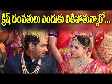 Reason Behind Director Krish Divorce with Wife Ramya | Y5 tv |