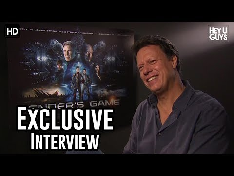 Director Gavin Hood - Enders Game Exclusive Interview