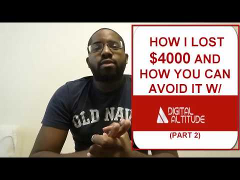 Digital Altitude Aspire SCAM Review Reaction   How to Make Money Fast Online in 30 days