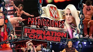 Predicciones WWE Elimination Chambers 2018 Loquendo (SL3000)